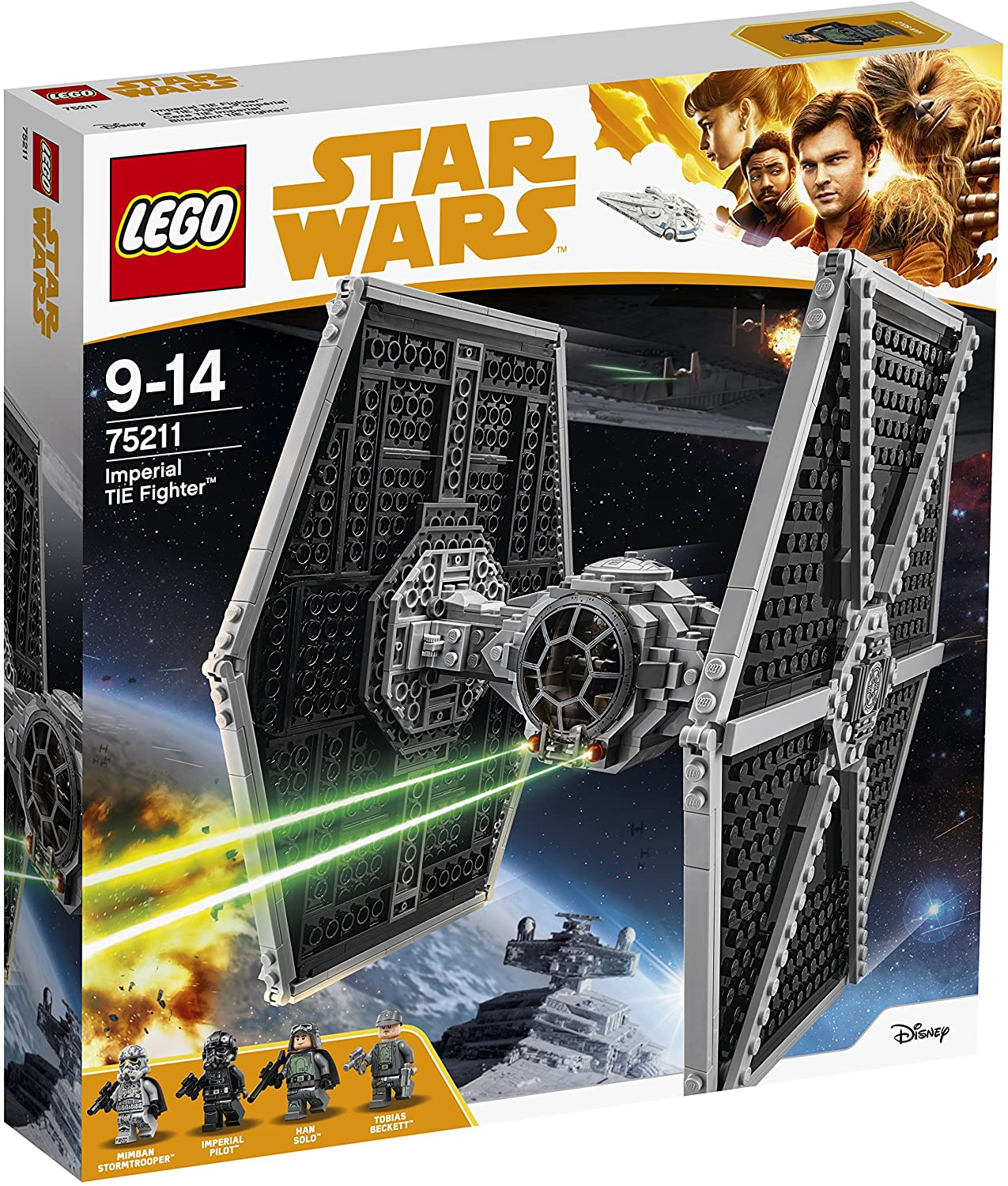 Modelo 75211 Imperial Fighter