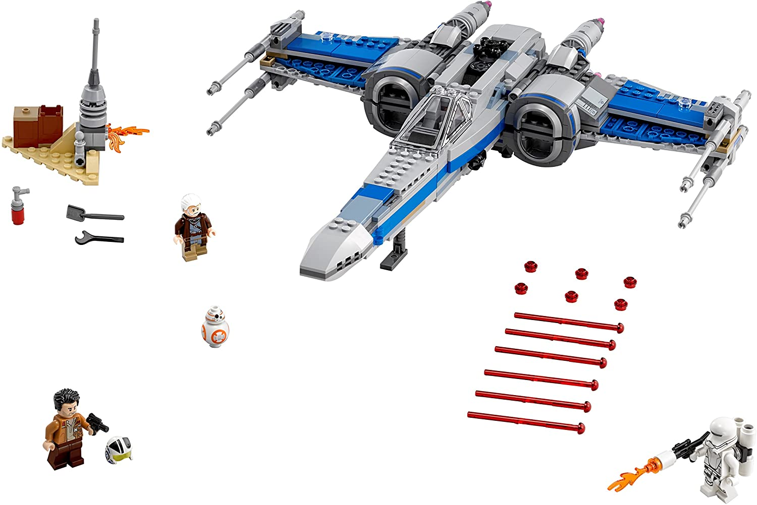 LEGO Modelo 75149 Resistance X-Wing Fighter Nave